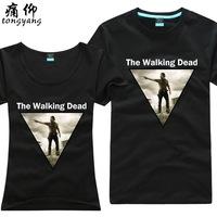 100% T-shirt short-sleeve cotton shirt plus size plus size personality sitcoms  100% Cotton custom logo