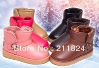 13 winter boots child snow boots male female child boots casual cotton-padded shoes baby boots slip-resistant waterproof