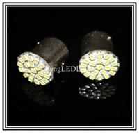 2pcs car led s25 p21/5w bay15d 1157 22 led smd 22smd brake stop light bulb lamp Free shipping