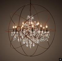 Lighting brief pendant light modern single caplights american style iron lamps
