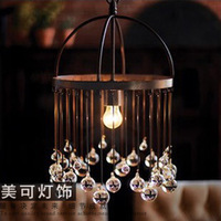 Vintage iron pendant light american vintage pendant light personalized pendant light nostalgic vintage pendant light