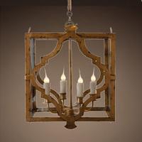 Vintage iron pendant light american style pendant light personalized pendant light advanced vintage pendant light