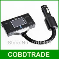 Best price! Led Parking Sensor with Bluetooth Car Kit Vehicle FM Transmitter MP3 Player Steering Wheel Controller Car dvr