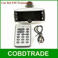 2013 Hot Sale Car Kit FM Transmitter Modulator CAR DVR with Bluetooth Wireless MP3 Player USB SD w/ Remote FM Transmitter