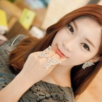 Ring - butterfly quality - accessories gentlewomen cutout ring - s222 lovers elegant