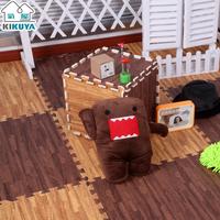 Wood grain kikuya mats foam puzzle mats floor mat floor leather 30 1