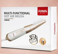 household travel hotel 3 in 1 multifunctional hot air brush dryer 800 Watts for free shipping