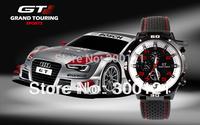 Rubber Strap Silicone Watch F1 GT Men's Sports watch women Casual watches Cycling Analog wristwatch 30pcs/lot