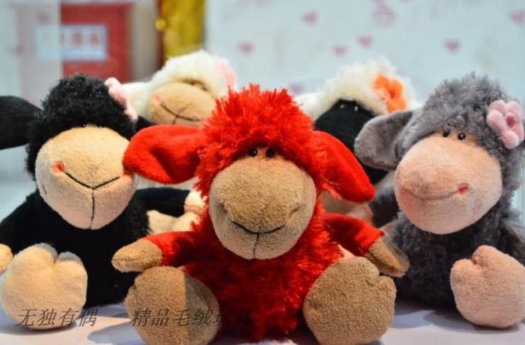 Детская плюшевая игрушка Small nici sheep plush toy 25 NICI NICI /1 X27 nici рыбка с фонариком 25 см nici
