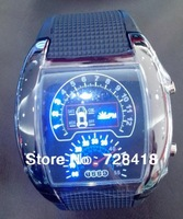 New Arrival Race Car Dial LED Men Super Digital Watch TVG Gift Blue Light Dot Matrix Unisex Gift Watches For Driver