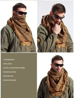 Freeshipping 1pc Military Shemagh Scarf Tactical Desert Arab Keffiyeh scarf Polyester for hunting ski airsoft
