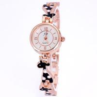Relojes women quartz gold rose drop rubber lovely animal bracelet designer  free shipping watches women fashion luxury brand