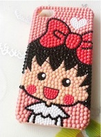 DIY Cell Phone Case Decoration Cute Girl Material (No Tool No Case No Glue) With Free Shipping