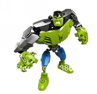 Retail Super Heroes The Avengers Brand New compatible with lego Building Block hulk Children toy Boy gift