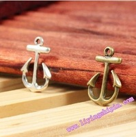 simple anchor   Charms Zinc Alloy Pendants Accessories Jewelry Findings  FREE SHIPPING wholesale