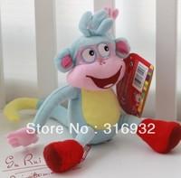 J1  Soft Plush Dora the Explorer BOOTS The Monkey Plush Dolls Toy children toys birthday gift 30cm 1pc