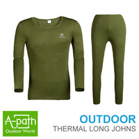 Man and women outdoor winter thermal underwear breathable quick- drying keep warm Anti-static Hygroscopic and sweat Long Johns