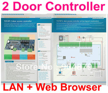 2 Door Access Controller Board Panel for Double Door Access System Can connect with Biometric door