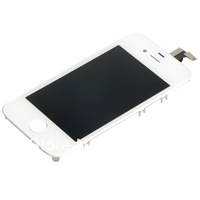 White Fashion  for iPhone 4S 4GS Lcd Digitizer  BA092