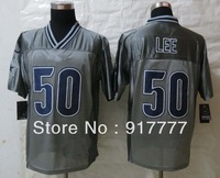 2013 Fashion  Dallas  50 Sean  Lee Grey  Elite American Football Jerseys Free Shipping