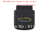 free platform Quad band Car Vehicle OBDII OBD with diagnosis gps tracker built-in 8M Flash Listen-in