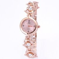 Ladies bracelet king girl watch quartz luxury crystal diamonds dolphin design chain round dail with tags dropship wholesale