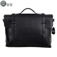 Fashion brief vintage fashion male briefcase fashion commercial horizontal handbag messenger bag