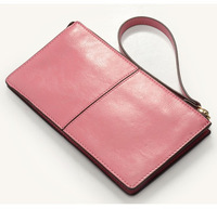 2013 day clutch  women's genuine leather handbag cowhide  clutch-bag small change mobile phone bag wallet