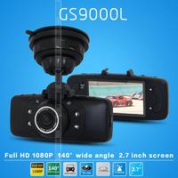 Original Car DVR GS9000L NOVATEK Chipset 1080P 2.7'LCD 140 Degree Lens Car Vehicle Black Box Camera Recorder DVR G-Sensor GS9000