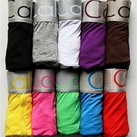 Boxers 2 pieces  cotton fabric CK01 best price promotion for sexy mens boxer shorts men's soft underwear