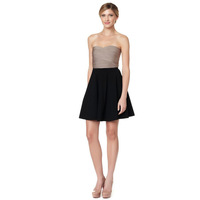 Fashion new arrival khaki women's black skirt bandage evening dress cocktail dress