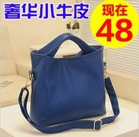 Fashion female bags 2013 candy color sweet messenger bag genuine leather handbag women's female handbag