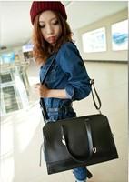 Black women's handbag new arrival big bags 2013 women's female fashion handbag women's handbag cross-body bags