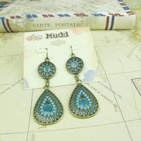 Min.order is $10 (mix order) Free Shipping & Fashion accessories vintage enamel earrings  TA-6.99