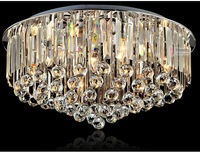 Luxury led crystal lamp lighting living room modern minimalist bedroom ceiling lighting CL9169 restaurant