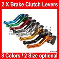8 colors 2X Brake Clutch Levers For KAWASAKI NINJA ZX-10R 04-05 ZX10R ZX 10R 10 R 04 05 2004 2005 2004-2005 100%NEW CNC
