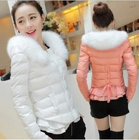 Fashion candy multicolour winter outerwear wadded jacket women's cotton-padded jacket 2013 design short cotton-padded jacket