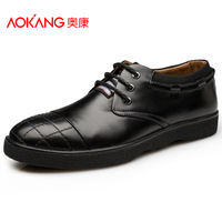 Aokang men's popular men casual shoes male sport shoes casual shoes genuine leather shoes new arrival