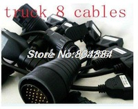 free shipping full set 8 cables of truck for TCS CDP PRO best price and best service
