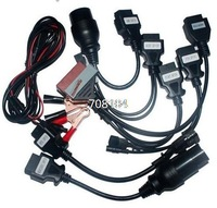 DHLfree shipping  lowest price  full set car 8 cars Cables for TCS CDP pro plus .OBD2 cables.auto parts diagnostic tools.