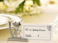 Wedding Gift Love letter Seats Card Holder Room Decorate Wedding Table Stander Return Present