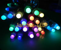 200PCS WS2811 Full Color RGB Pixels 12mm Waterproof Addressable LED String DC5V