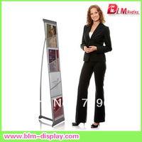 L Brochure Literature Display Rack with 4 net holders in size A4 FREE SHIPPING BLMB315