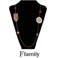 The new selling women's fashion necklace on the price preferential benefit package mail