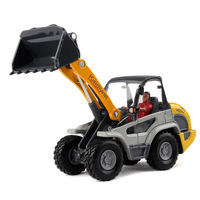 Free Shipping. Toy car miniature bulldozer alloy model small excavator