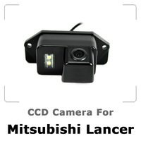 Car Rear view Camera For MITSUBISHI Lancer with CCD Sensor, Waterproof, 170 degree Night Vision, Free Shipping
