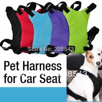 New Arrival  HOT Adjustable Multifunctional Safe Safety Vehicle Car Harness Pet dog safety seat belt