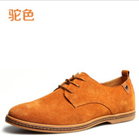 Men Suede Shoes Big / large Size Shoe European style Large Men's shoes flat winter plush flats autumn style 7 colours sneakes