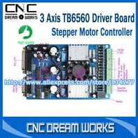 3 axis TB6560 3.5A CNC engraving machine stepper motor driver board 16 segments stepper motor controller X0101