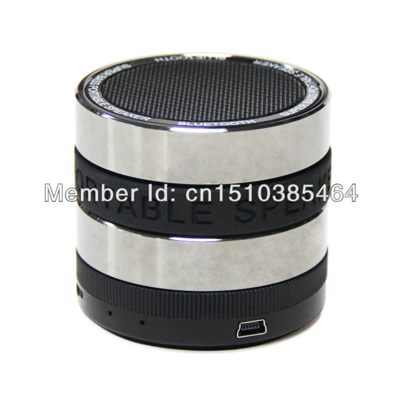 FM Hot Sale Bluetooth Wireless Speaker Super Bass Mini Portable For Cell Phone Tablet PC(China (Mainland))